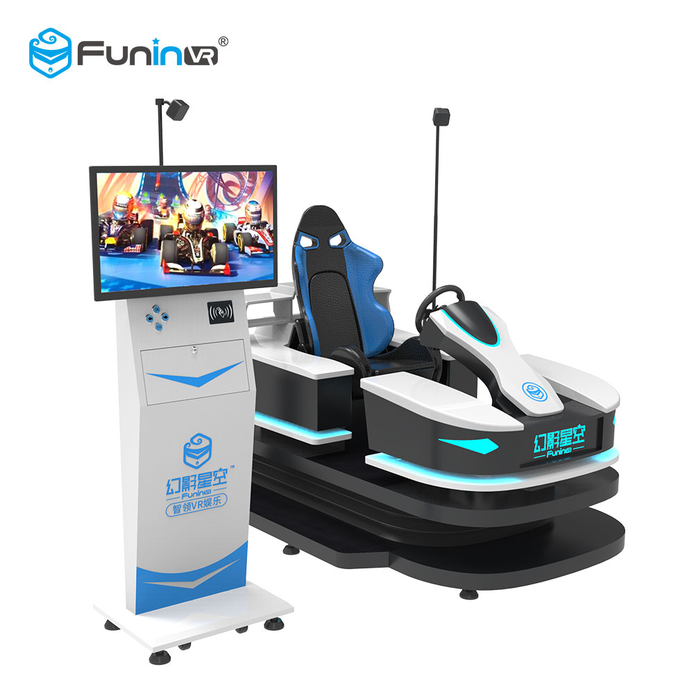 2019 FuninVR fabriek prijs VR karting simulator games virtuele spel import uit china pretpark game machine