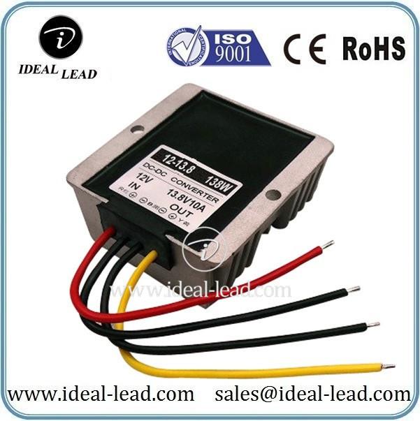 12Vdc to 13.8Vdc 10A converter