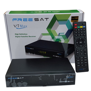 Digital Satellite Receiver super max Freesat V7 Max (DVB-S2) in  stockfreesat v7hd satellite receiver freesat V7 max