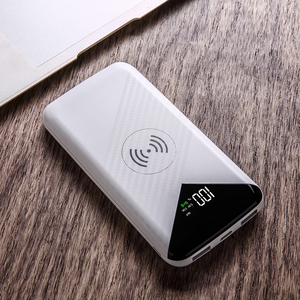 Dry battery price in pakistan qi wireless charger receiver powerbank 20000mah portable