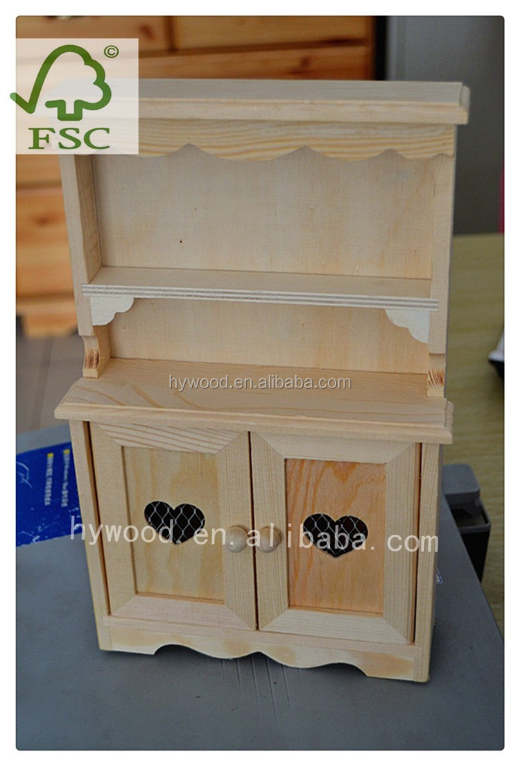 Unfinished antique wooden mini cabinet shape wooden crafts for Where to buy old windows for crafts