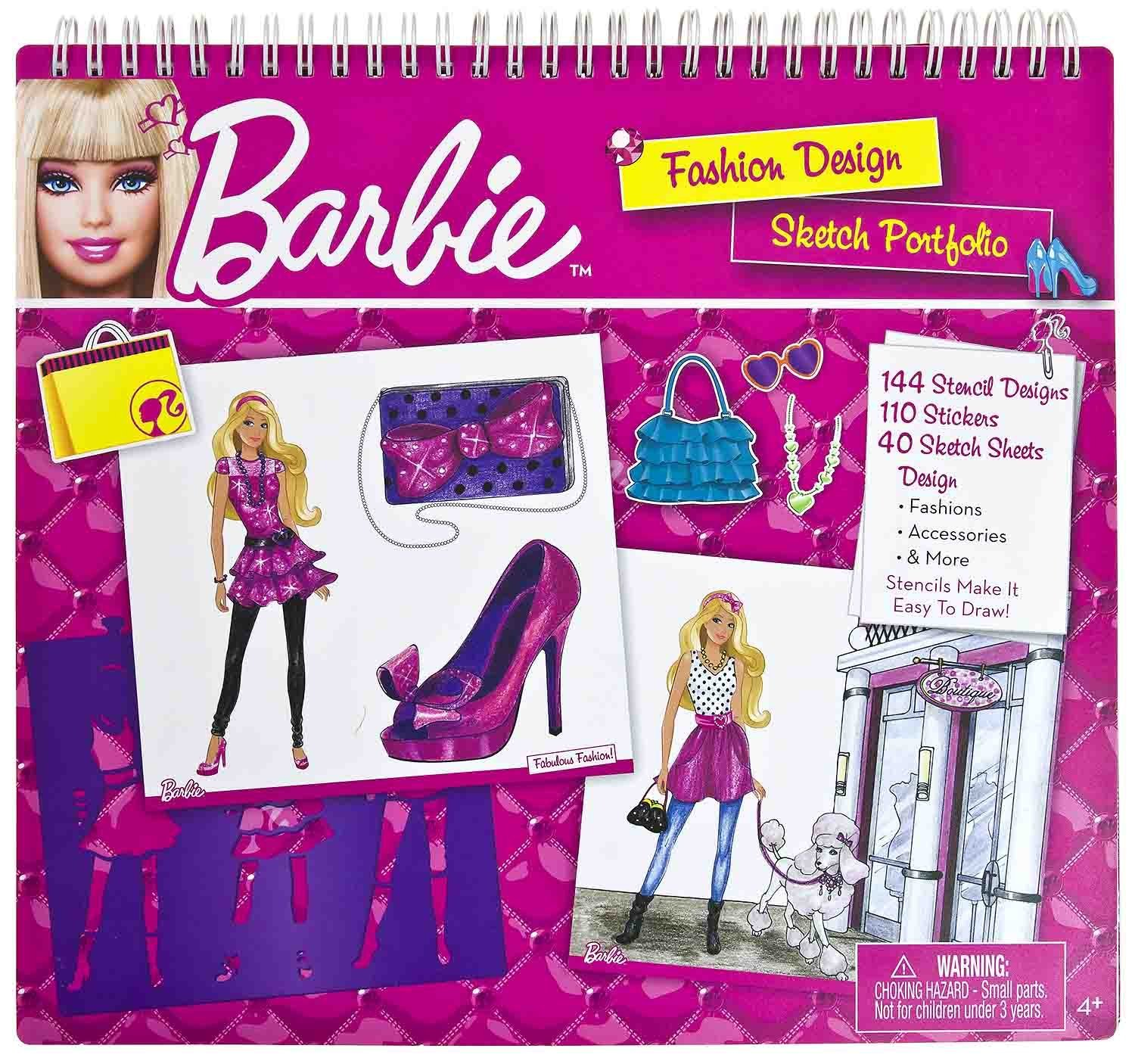 Buy Barbie Fashion Design Sketch Portfolio In Cheap Price On Alibaba Com