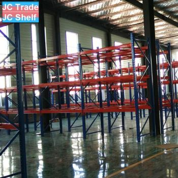 Warehouse Adjustable Height Heavy Duty Steel Pallet Rack
