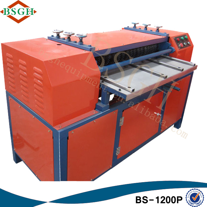 REDUCE LABOR COST! BS-1200P Pa66 Gf25 for Radiator NF Peugeot 406 Radiator Recycling Machine