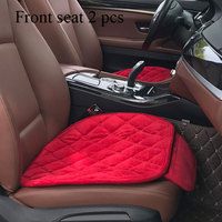 accessories velvet luxury car chair cover pink square round cushion customize four seasons durable full set car seat cover