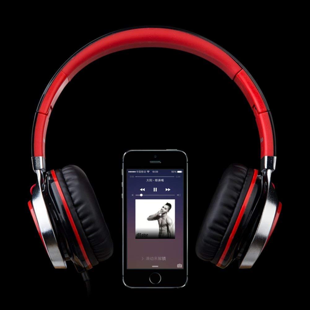 Cell phone headset Head-arch headphones Music single earphone Big ear headphones-C