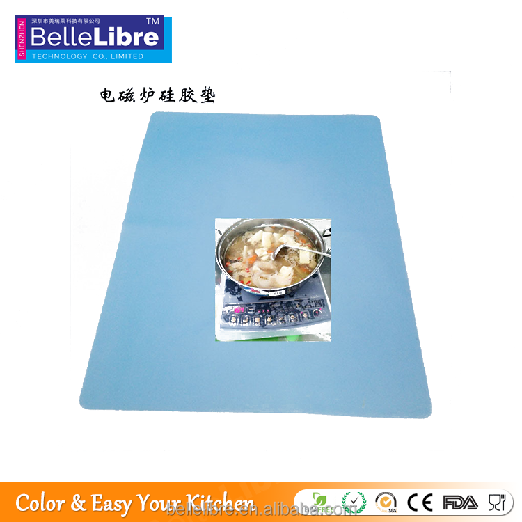 Healthy And Durable Silicone Induction Cooker mat