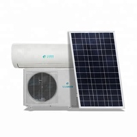 48V DC Inverter split Solar Powered Air Conditioner 100% Solar Air Conditioning for home use