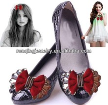 UK popular handmade shoe clips flower for wedding bride
