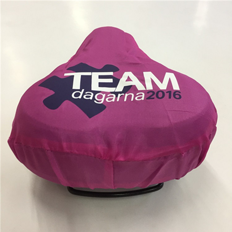 Custom 100% Nylon Waterproof Bicycle Saddle Cover Bike Seat Cover