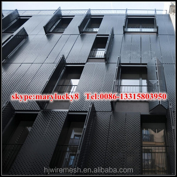 aluminum perforated facade panel/perforated aluminum panel for facade