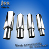 2.5 inch inlet 4 inch outlet racing car motorcycle exhaust silencer mufflers for bmw e36 m3