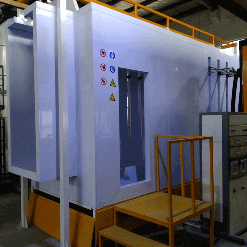 Fast delivery small paint spray booth with certificate