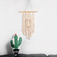 Macrame Wall Hanging Art Woven Tapestry Boho Home Decor Apartment Dorm Room Decoration
