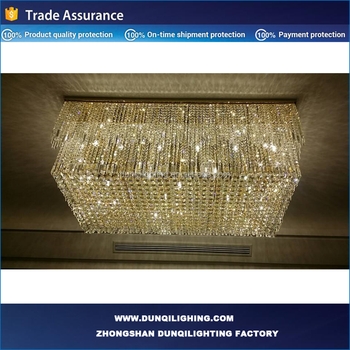 Big Glass crystal lamp with CE UL certification
