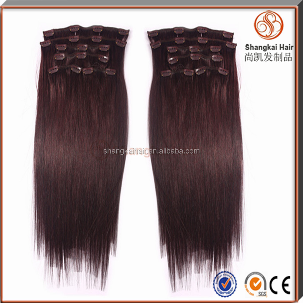 Hot Sell Clip Inclip On Hair Extensions Walmart Hair Buy Clip On