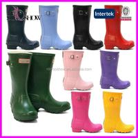 Custom cheap wholesale rain boots women , rubber rain boot
