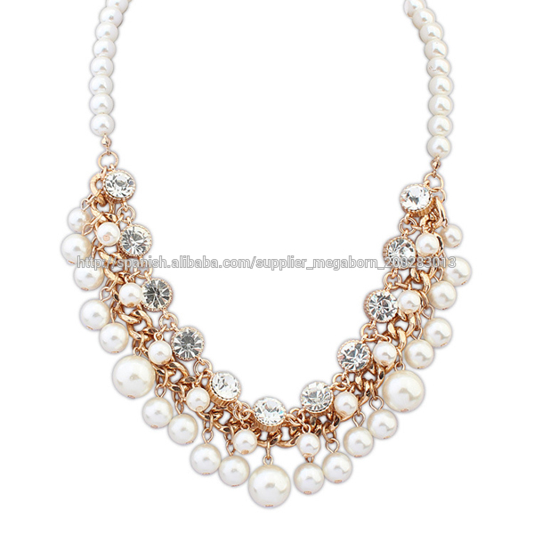 2014 nuevo producto joyas de oro cristal dise os de collar for Disenos de joyas en oro