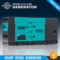 Electric silent diesel generator for sale
