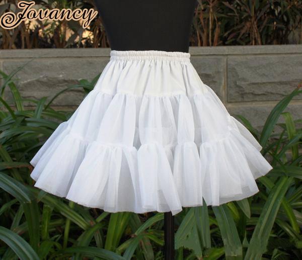 White-Short-Wedding-Crinoline-Wedding-Bridal-Petticoat ...