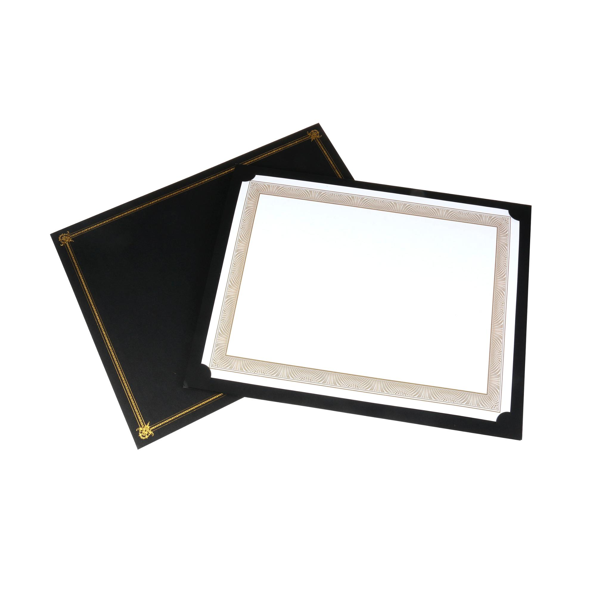empire gold certificate on white parchment set of 25 8 1 2 x 11