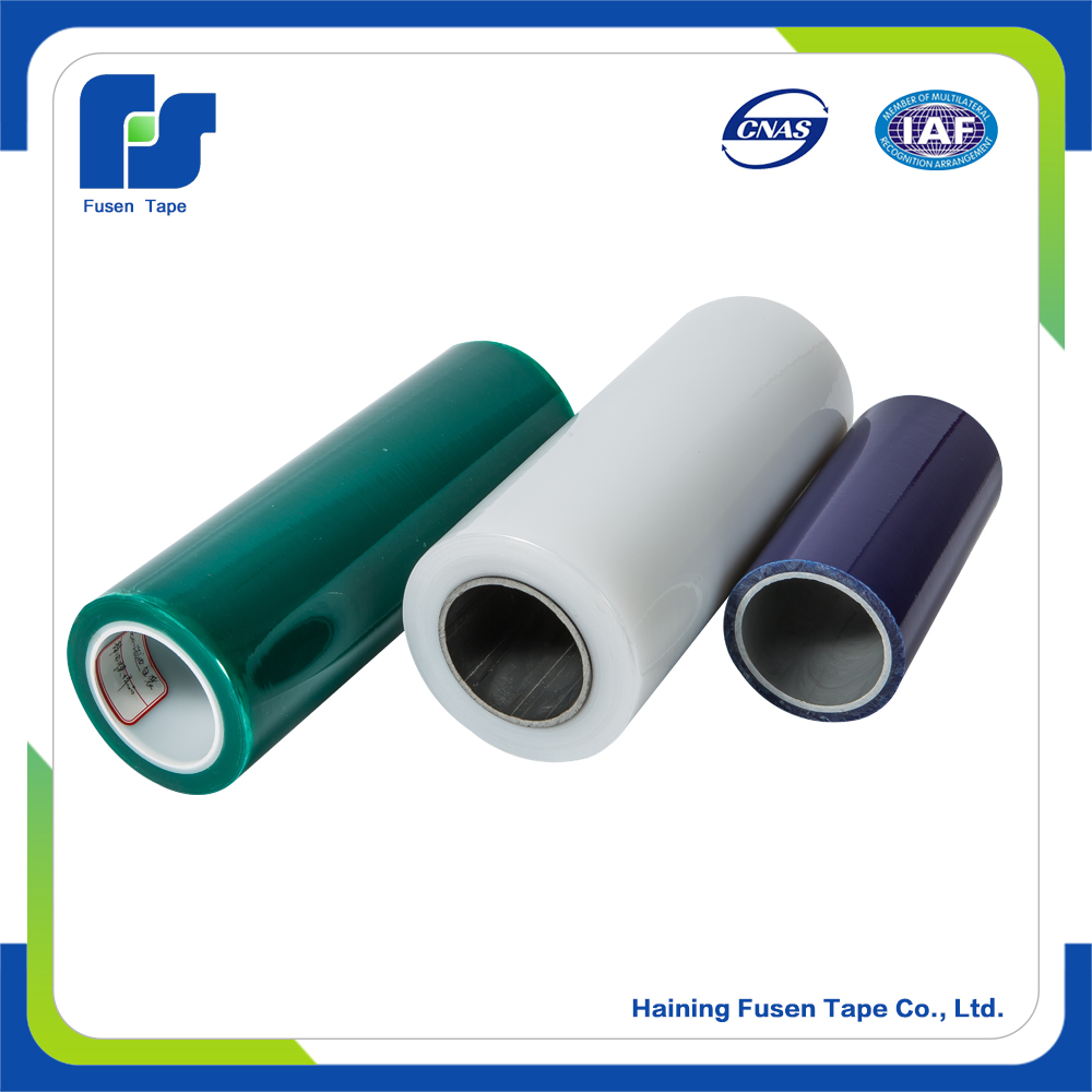 Stainless steel PE LDPE LLDPE transparent single side protection films for steel products