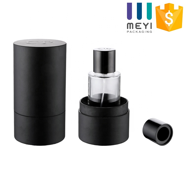 High quality luxury bottle perfume glass 30ml 50ml 100ml with magnetic perfume cap and manual box