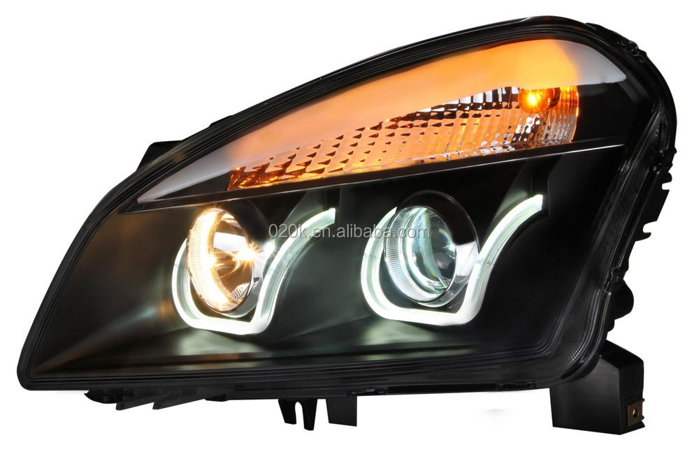 CE ISO9001 certification aftermarket headlight assembly for Qashqai(2008-2013),car head lamp,car accessories