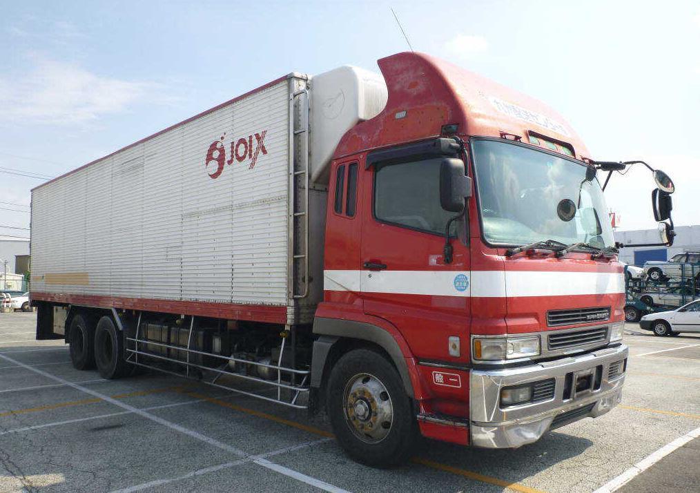 Mitsubishi Fuso Fighter Refrigerator Truck / 3 Ton / 6m60 Engine ...