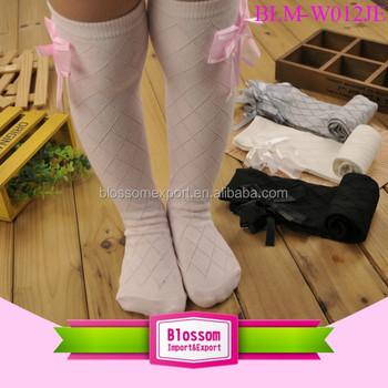 c8113e9f92133 2017 Knitted Children Leg Warmers Boot Socks Knee High Crochet Girls cute  pink plaid Boot Socks