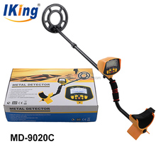 Shanghai Tianxun professional high sensitivity MD-9020C underground LCD metal detector and gold machine