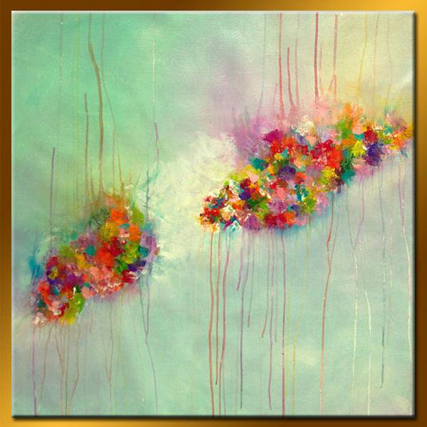 Moderna pintura al leo de la pared de imagen para sala de - Pinturas modernas para sala ...