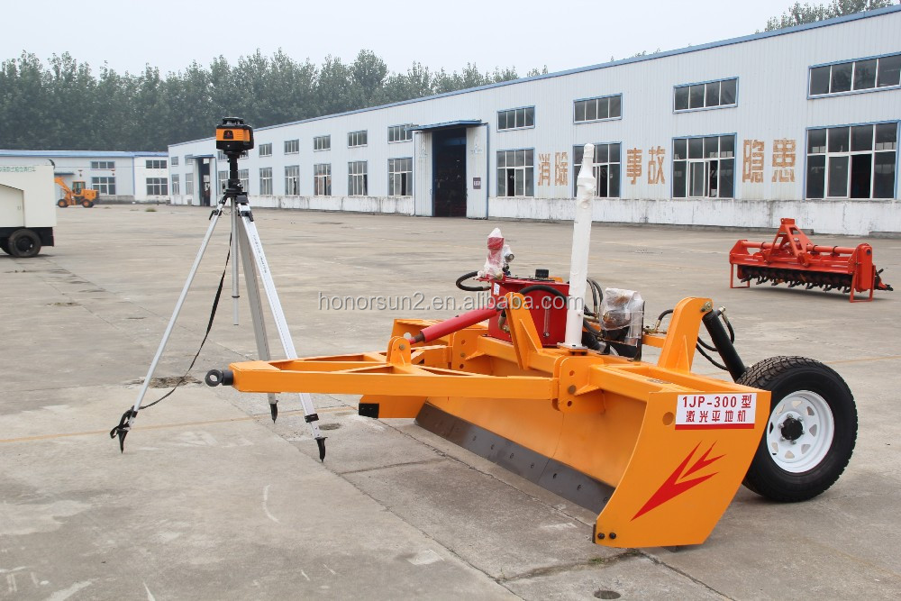 agriculture grader for Farm machinery, 2.5-3.5 m Laser Land Leveling for tractor
