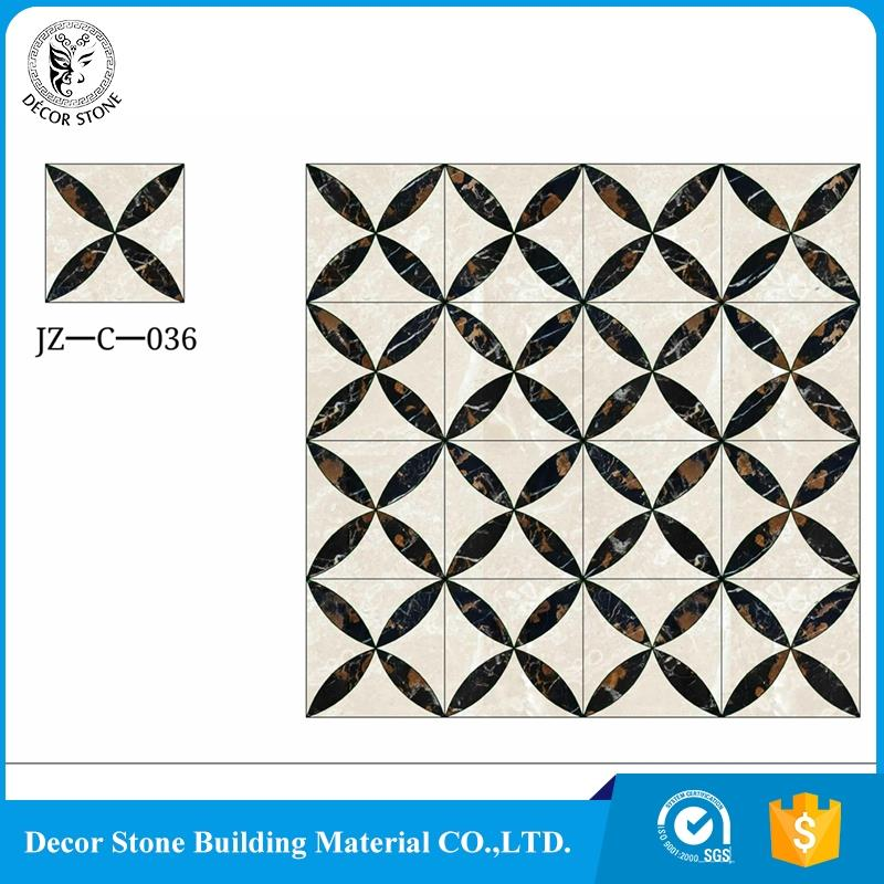 New product 2017 waterjet marble tile floor medallion designs manufacturer