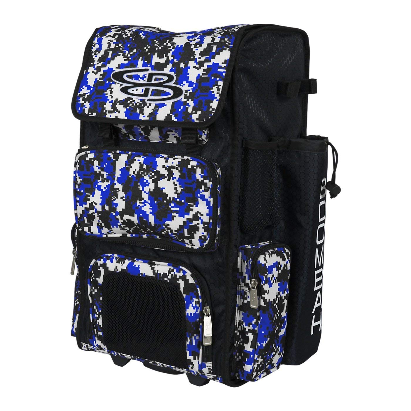 Holds 2 Bats Stealth Backpack Version no wheels Boombah Superpack Bat Pack