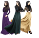 Charming women latest burqa designs soft silk and satins muslim dress abaya