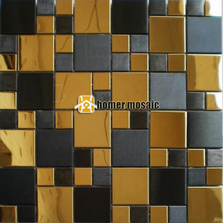 online kaufen gro handel goldene fliesen aus china goldene fliesen gro h ndler. Black Bedroom Furniture Sets. Home Design Ideas