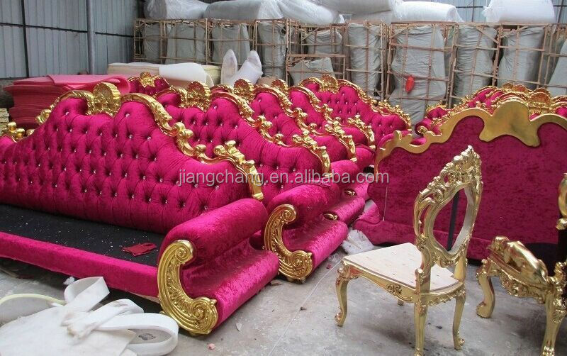 Marvelous Manufacturing European Hot Pink Royal Furniture Sofa Set Buy Wedding Stage Sofa Hot Pink Sofa European Royal Sofa Product On Alibaba Com Caraccident5 Cool Chair Designs And Ideas Caraccident5Info