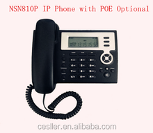 2 SIP Lines,IAX2,POE,Headset business voip phone