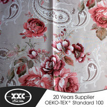polyester voile sheer curtain window curtains ready made