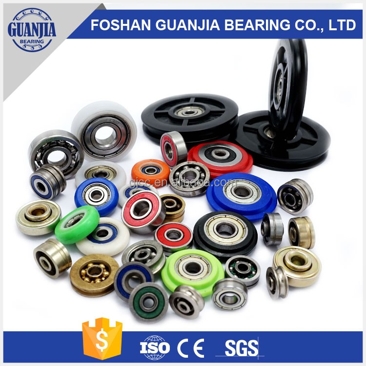 Foshan Top Sale Aluminium/Plastic/Nylon/POM/PVC Sliding Door Window Bearing Roller/Wheel/Pulley