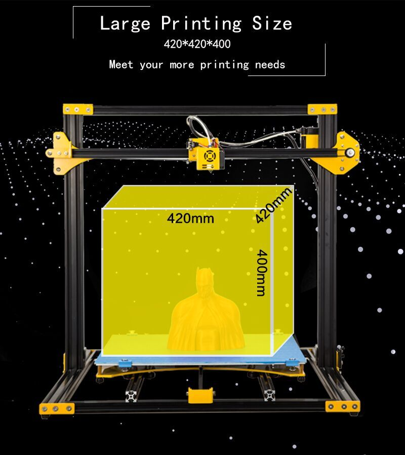 2019 S1 3D Printers Upgraded Version DIY Metal 3d printer OEM ODM service factory price