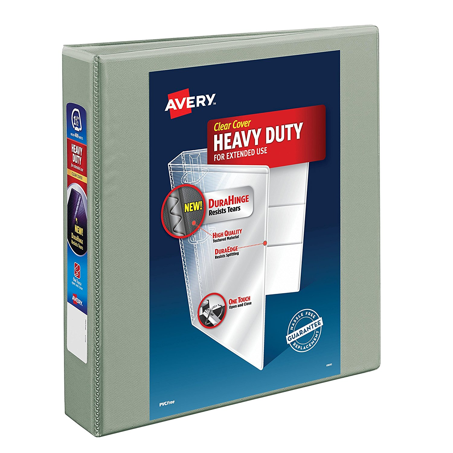 Buy Avery Heavy-Duty View Binder With 1.5 Inch One Touch