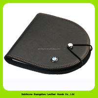 1501 Branded Portable Faux PU Leather 80 Disc CD DVD Wallet Storage Organizer Holder Bag Case