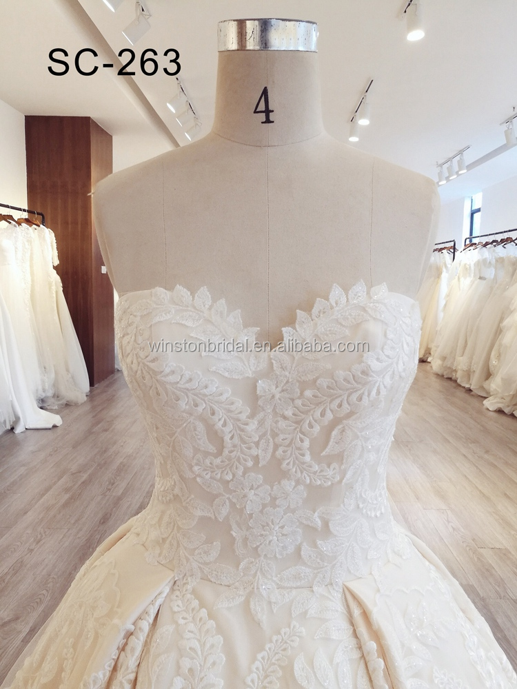 New Luxurious High Quality new style wedding dress suits for women
