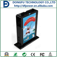 Advertising and mobile phone charging station with advertisement function coffce shop 10000-20000mah powerbank