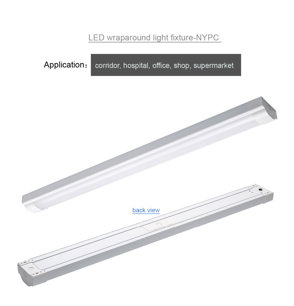 Wrap around fluorescent light covers finest wrap around fluorescent awesome led wraparound light fluorescent light cover clips the character of our design led batten light dlc etl tuvce tuvcb tuvsaa certificate with wrap arubaitofo Gallery