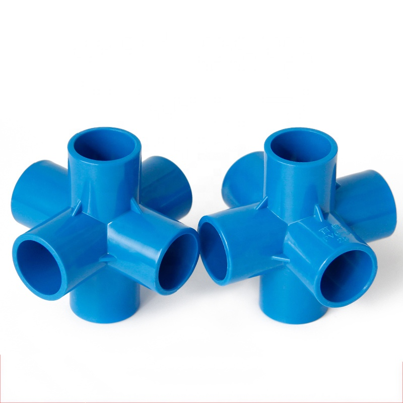 PVC 6 Way Cross <strong>Fittings</strong>