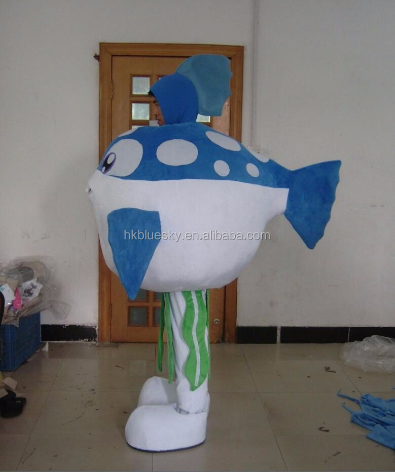 bswm41 customise fish costume fish mascot costume for adults