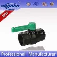 ASTM / DIN Original Material plastic octagonal valves PVC ball valves with long handle